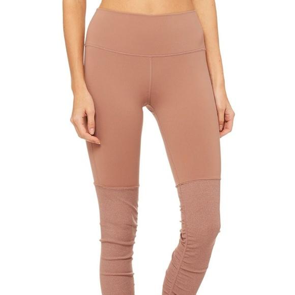 74523efc04 ALO Yoga Pants | Alo Highwaist Goddess Legging Rosewaterrosewater ...